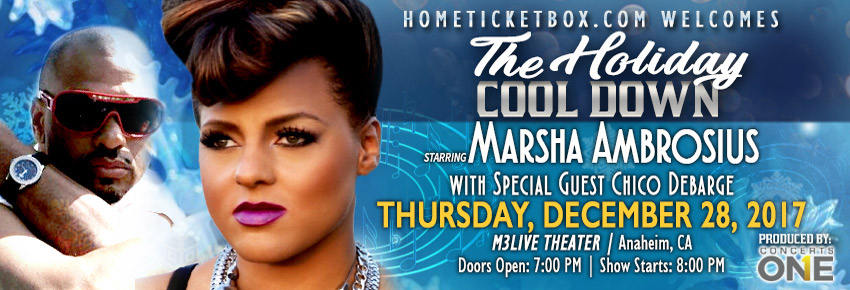 The Holiday Cool Down Concert - Marsha Ambrosius - Chico Debarge